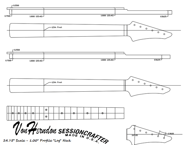 Von Herndon Neck Plans - 2